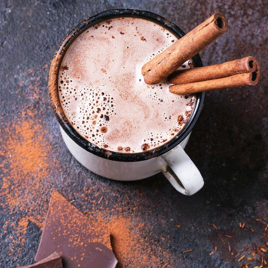 Healthy Lactation Hot Chocolate